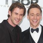 Wirral Globe: See pictures of Chris Hemsworth and Tom Hiddleston reuniting as Thor and Loki