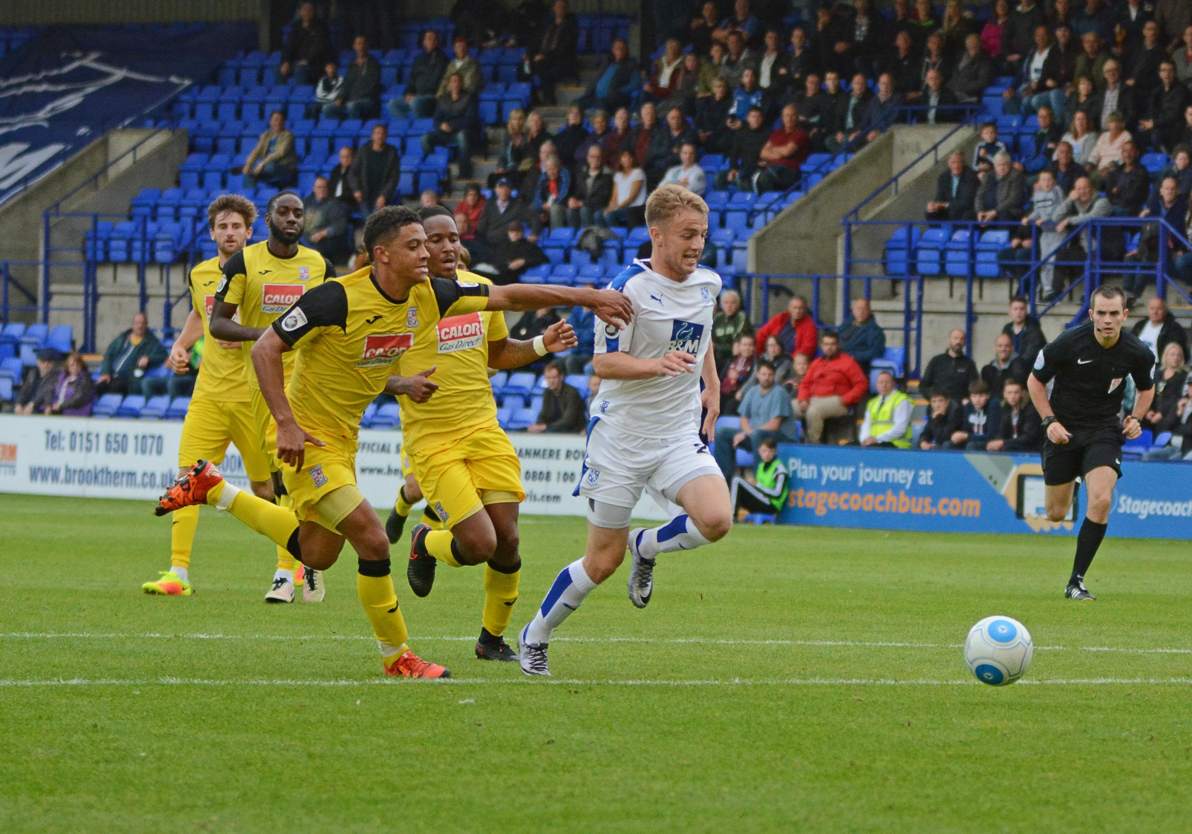Interim boss Carden steers Tranmere to victory over Woking | Wirral
