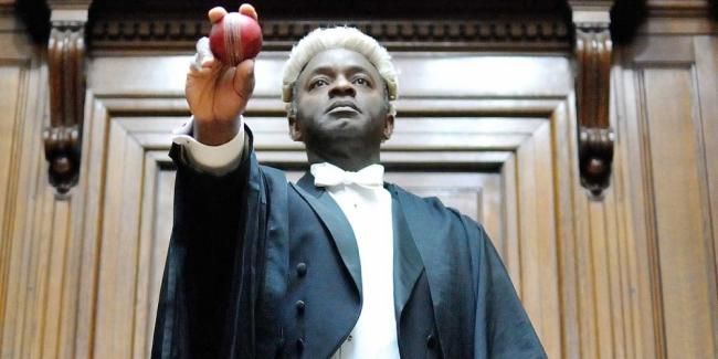 Tayo Aluko  plays Nigerian Tunji Sowande, who became Britain's first black judge