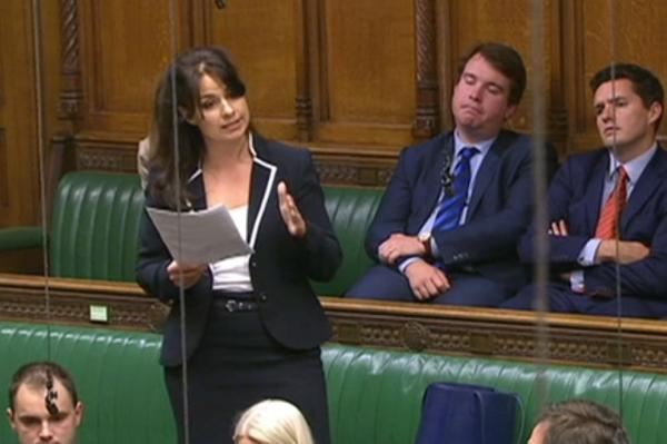 Wirral Globe: Heidi Allen spoke against the tax credit cuts but couldn't being herself to vote against them