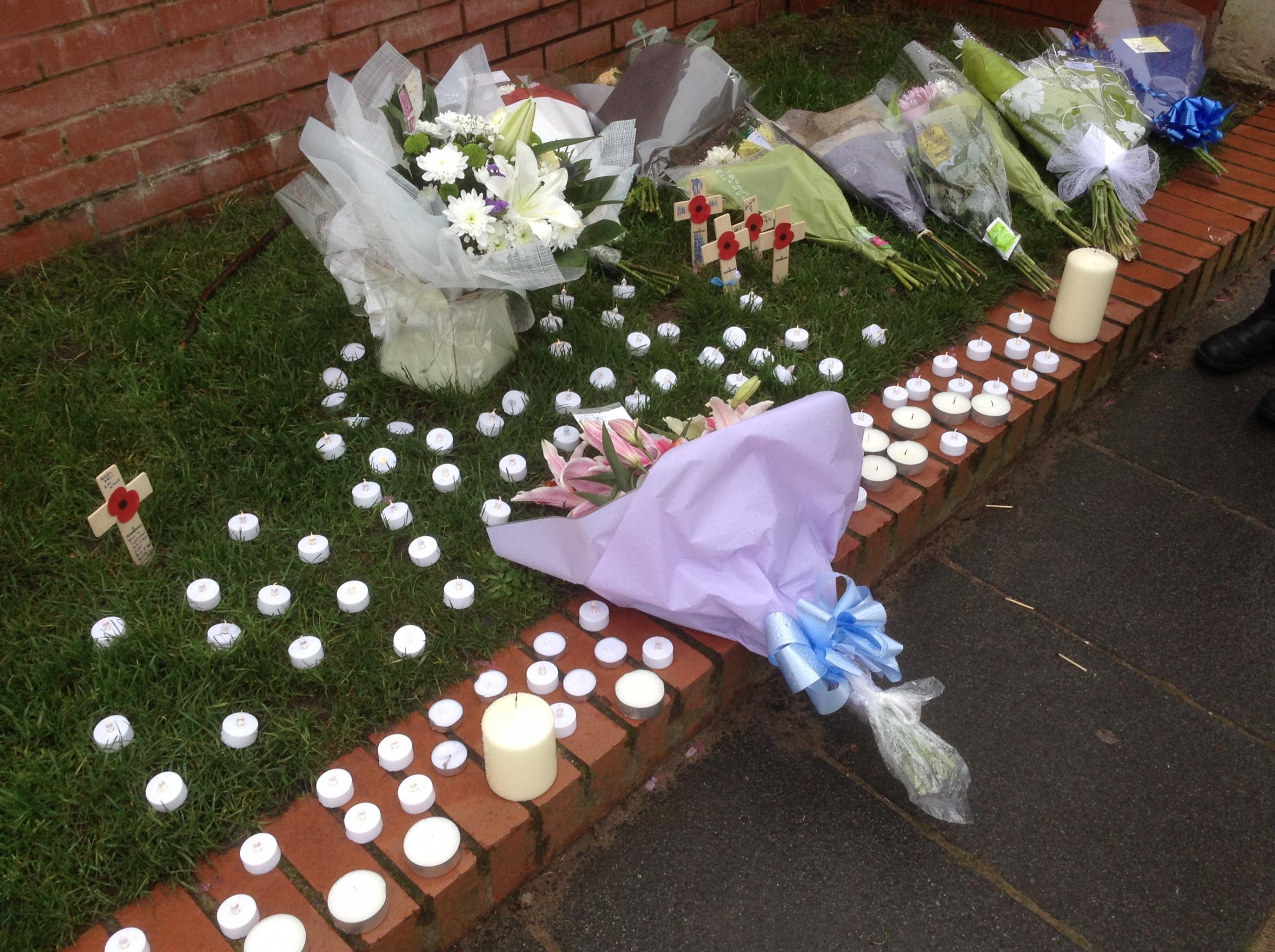 Floral Tributes To Wirral Dad Zac Wells Who Died Following Boxing