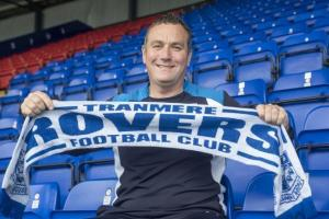 Rovers' manager Micky Mellon: