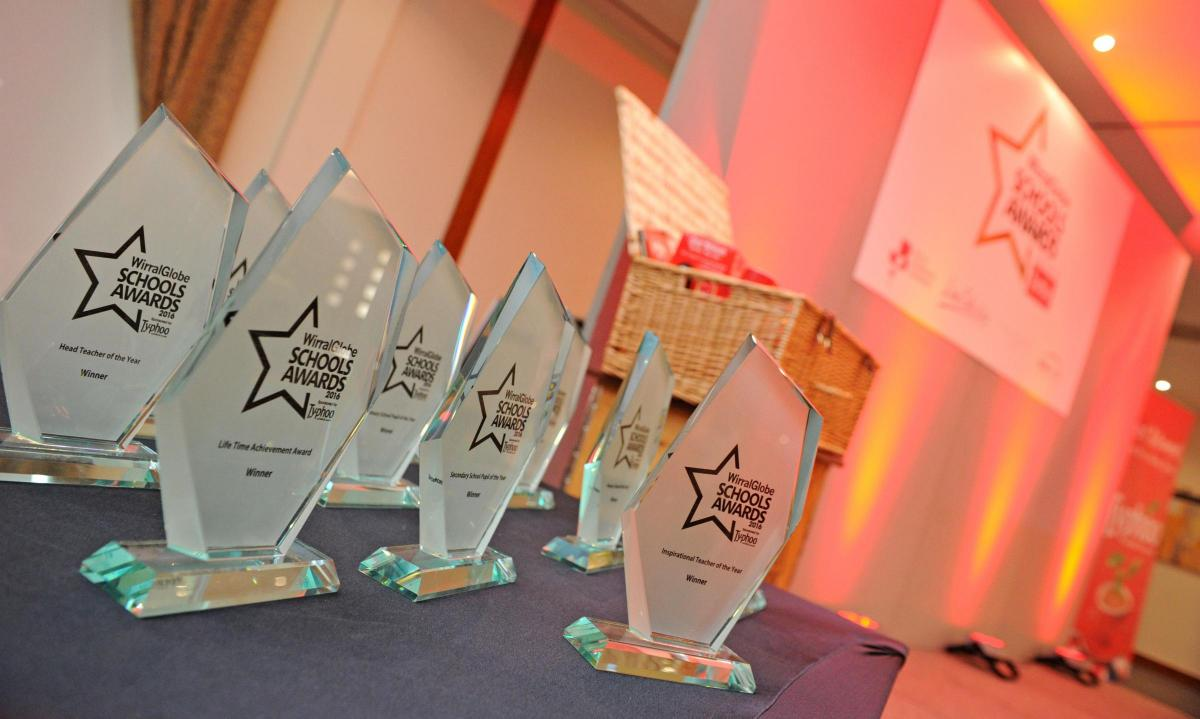 Get your nominations in now for Wirral Globe School Awards 2018