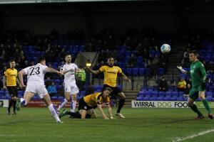 Action from Rovers v Dover. Pictures: Richard Ault