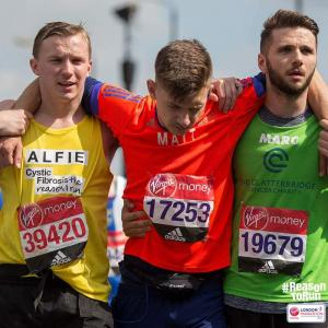 Wirral Globe: Wirral man helped his friend cross the finish line at the London Marathon. Click here to read more
