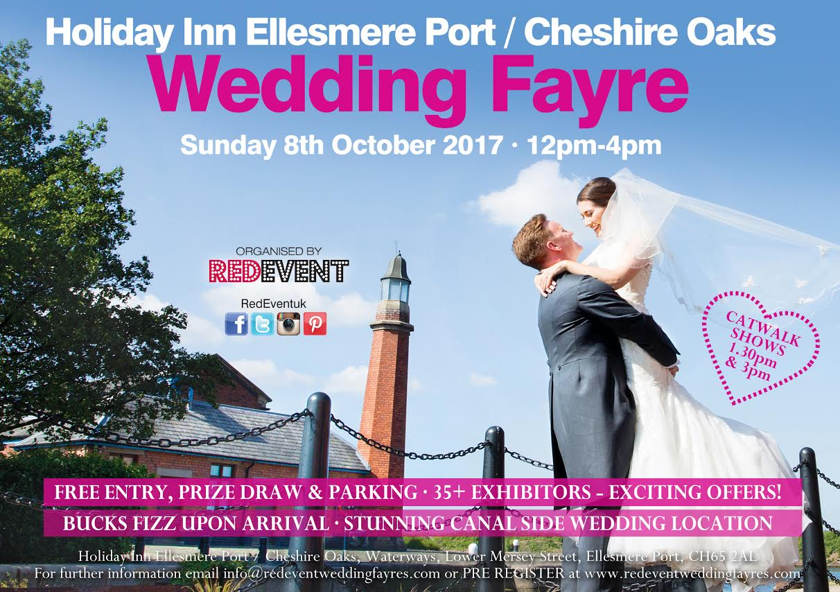 Wedding Fayre at Holiday Inn Ellesmere Port Cheshire Oaks