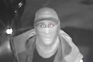 Police have released this CCTV image of a man they want to speak to in connection with the burglary