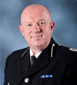 Merseyside's Chief Constable Andy Cooke