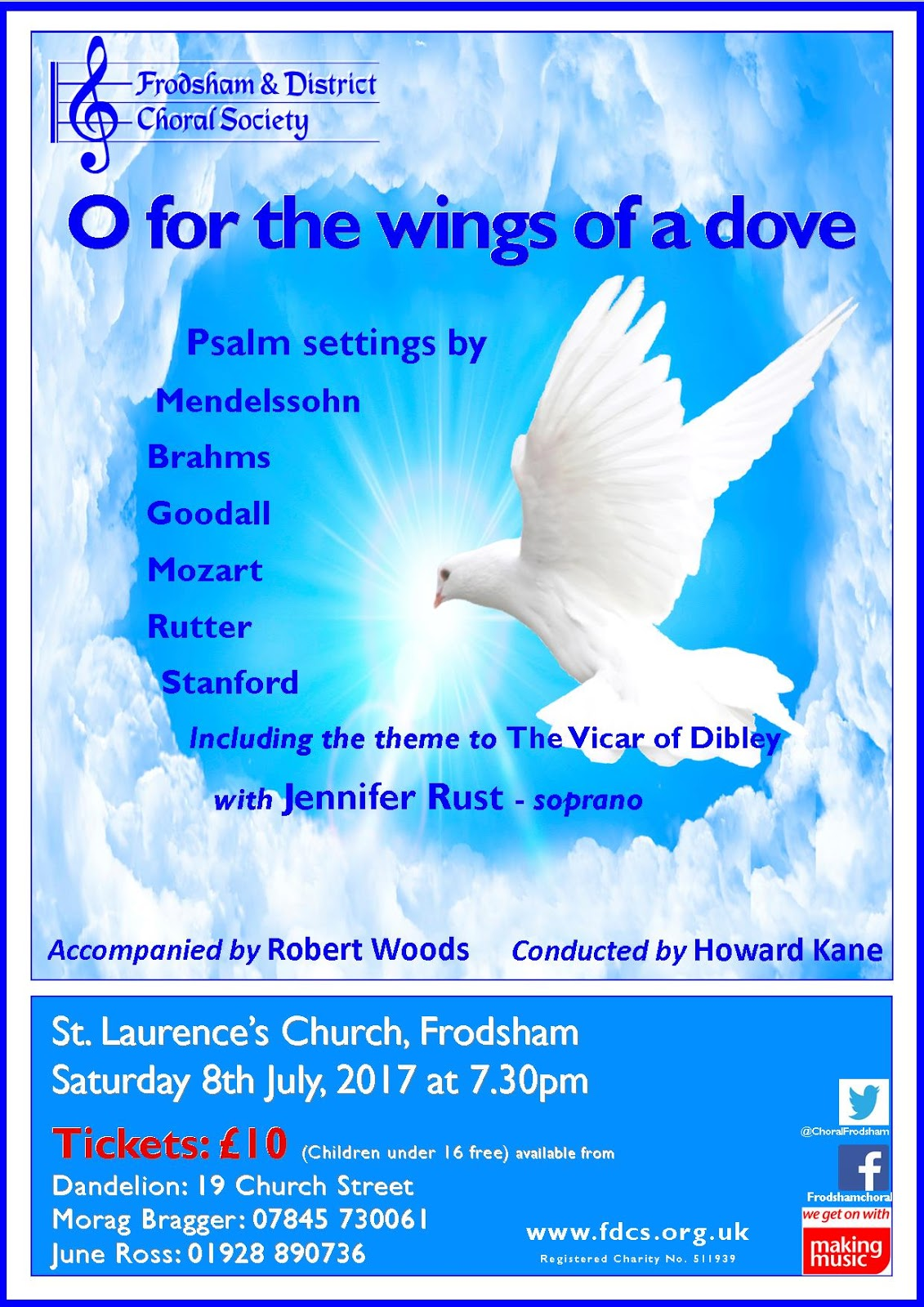 O for the wings of a dove (Psalm settings)