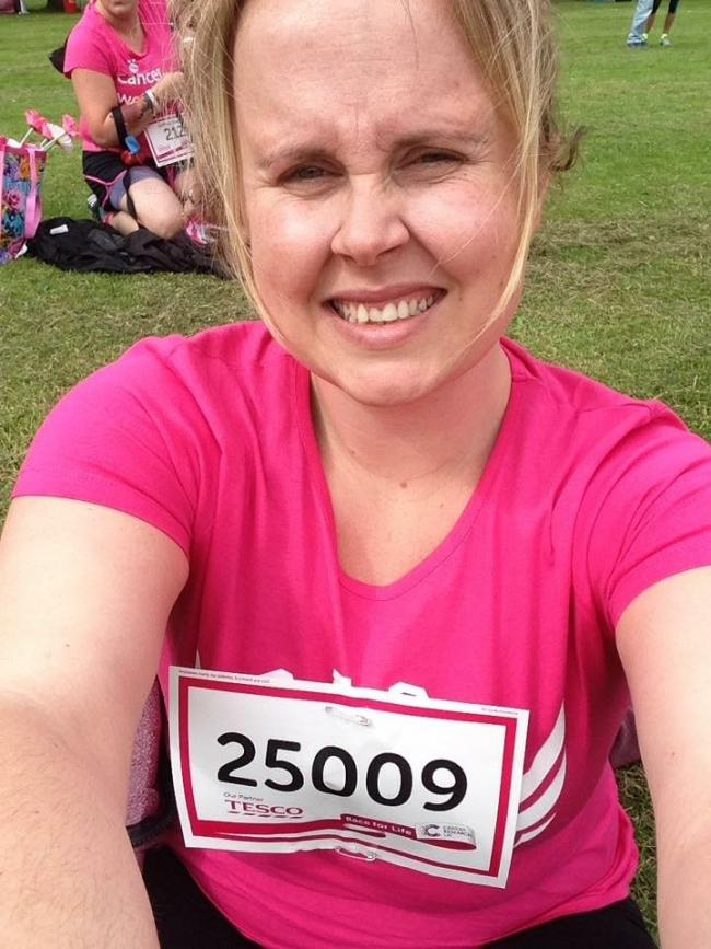 d81092f14 Wirral woman who survived womb cancer urges all to take part in Race ...