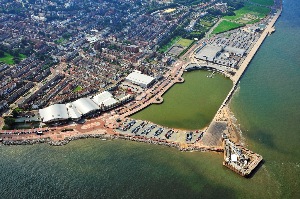 Aerial view of New Brighton