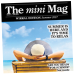 Wirral Globe: Mini Mag cover June 2017