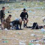 Wirral Globe: Glastonbury clean-up gets under way
