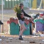 Wirral Globe: Glastonbury clean-up begins as revellers head home