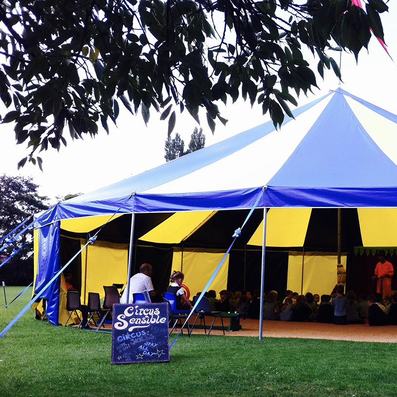 Circus themed Family Fun Day in aid of charity