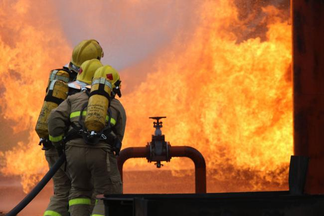 Recruit firefighters will begin their career on a salary of £22,237 which will rise to £23,162 on completion of training