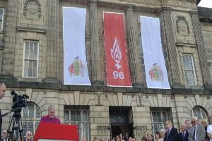 GALLERY AND VIDEO: Standing ovation for the Hillsborough 96 as they posthumously receive Freedom of Wirral
