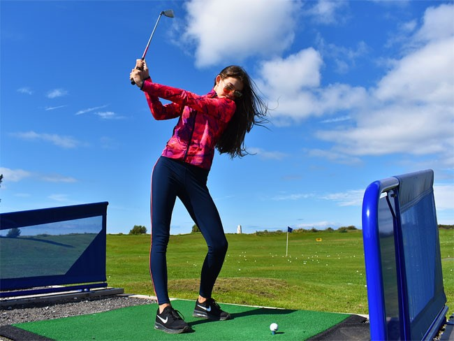 Poppy Gerrard is getting behind the drive to encourage more girls to take up golf