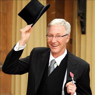 Wirral Globe: Paul O'Grady has collected his MBE at Buckingham Palace