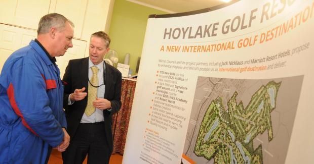 A consultation day held in Hoylake to discuss the plans last year