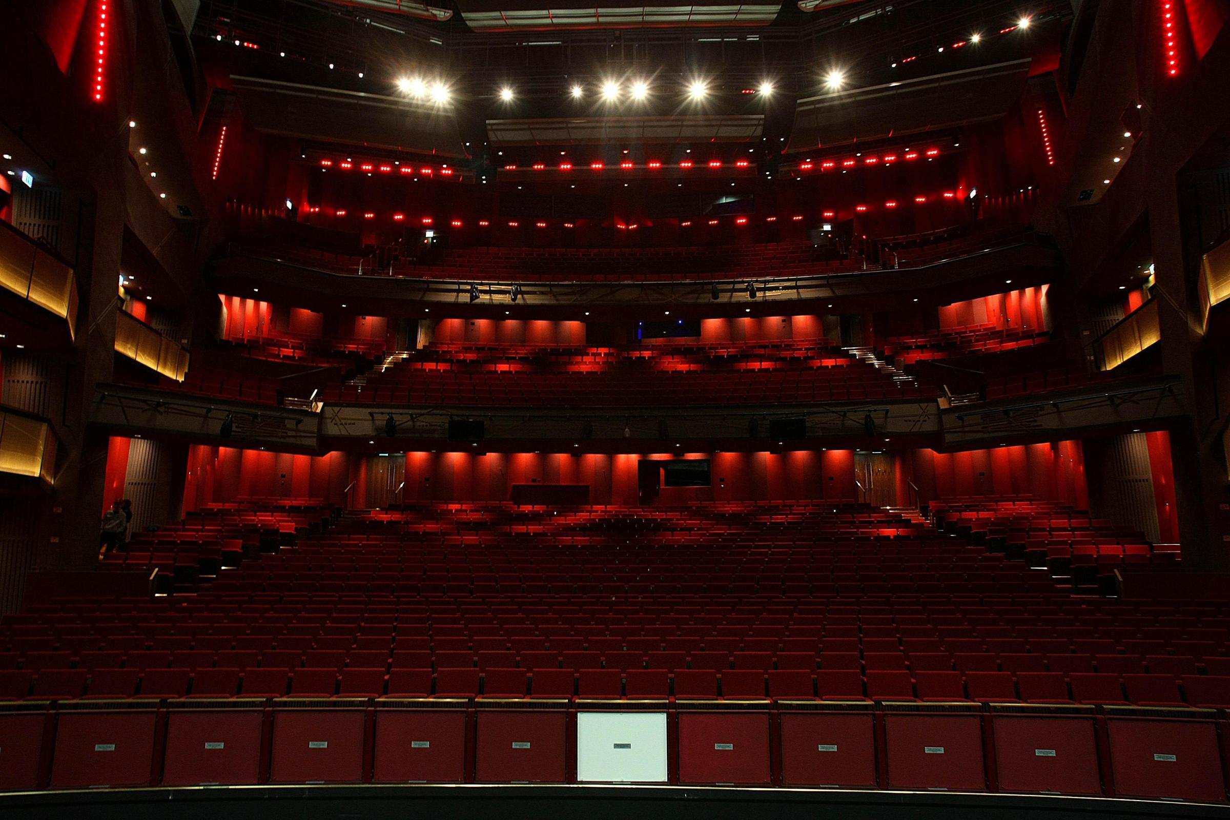 Dublin's new 2,000-seater Grand Canal Theatre, which was previewed to media before the official opening on March 18.