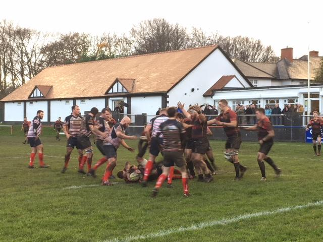 Birkenhead Park in action against Hull