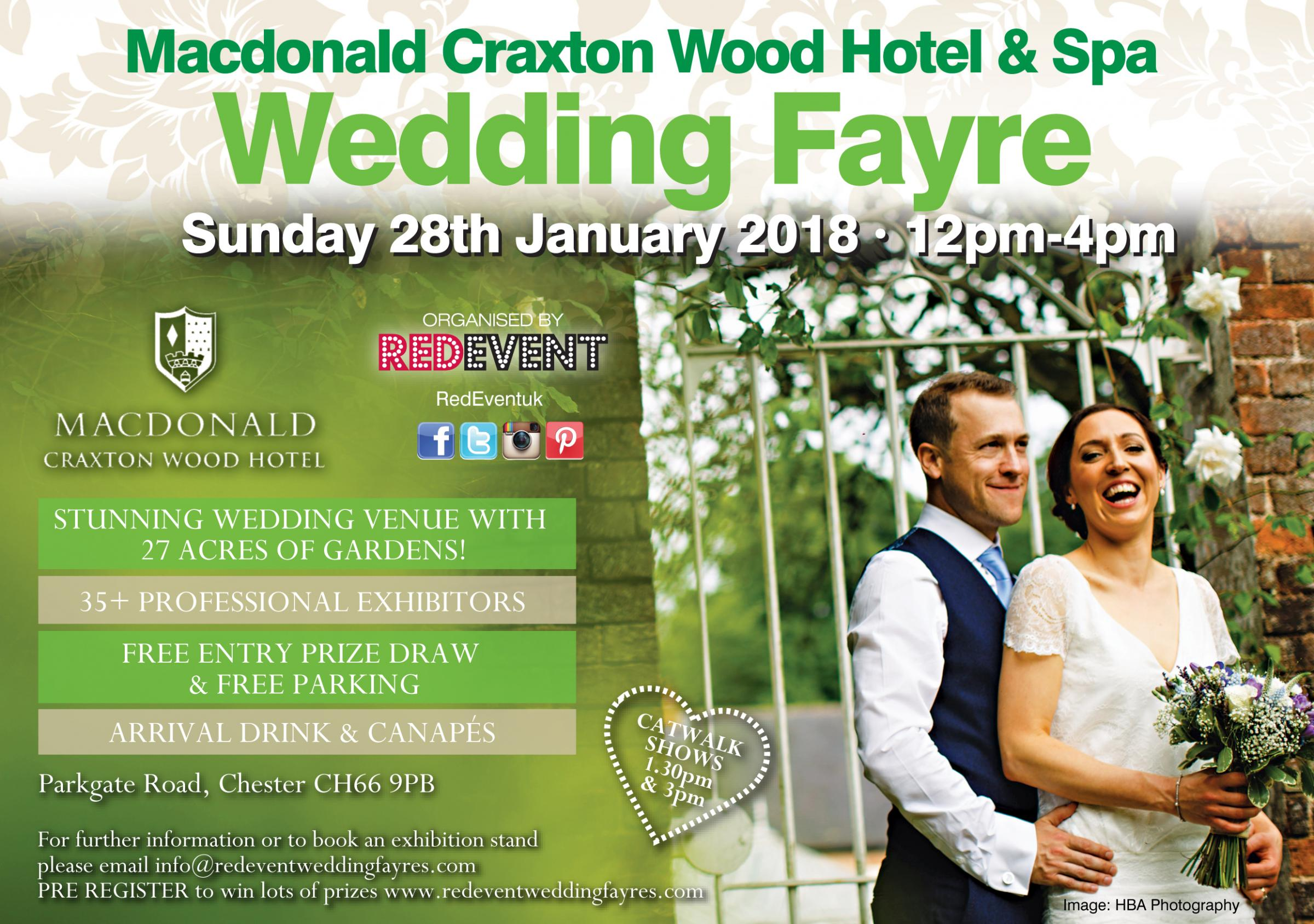 Wedding Fayre at Macdonald Craxton Wood