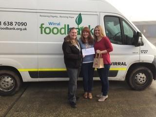 Big Hearted Businesswomen Get Creative For Wirral Food Bank