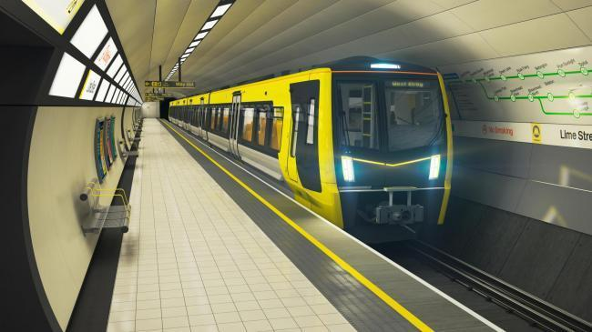 Misery for Merseyrail passengers as strike and subzero temperatures
