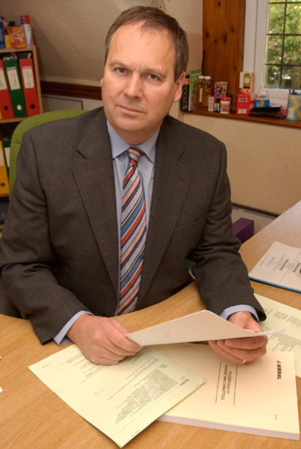 QUESTIONS: Cllr Simon Mountney is probing care cash claims