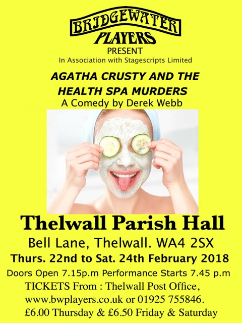 Agatha Crusty & The Health Spa Murders - a comedy by Derek Webb