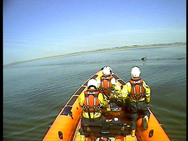 FLASHBACK: New Brighton lifeboat crew on mission