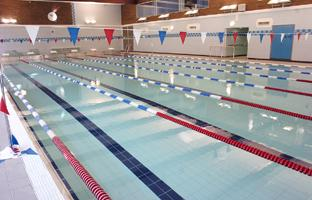SPLASH DOWN: The Oval pool, Bebington, is at last once again open for business