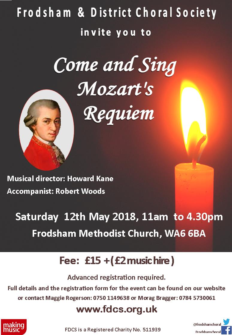 Come and Sing Mozart's Requiem