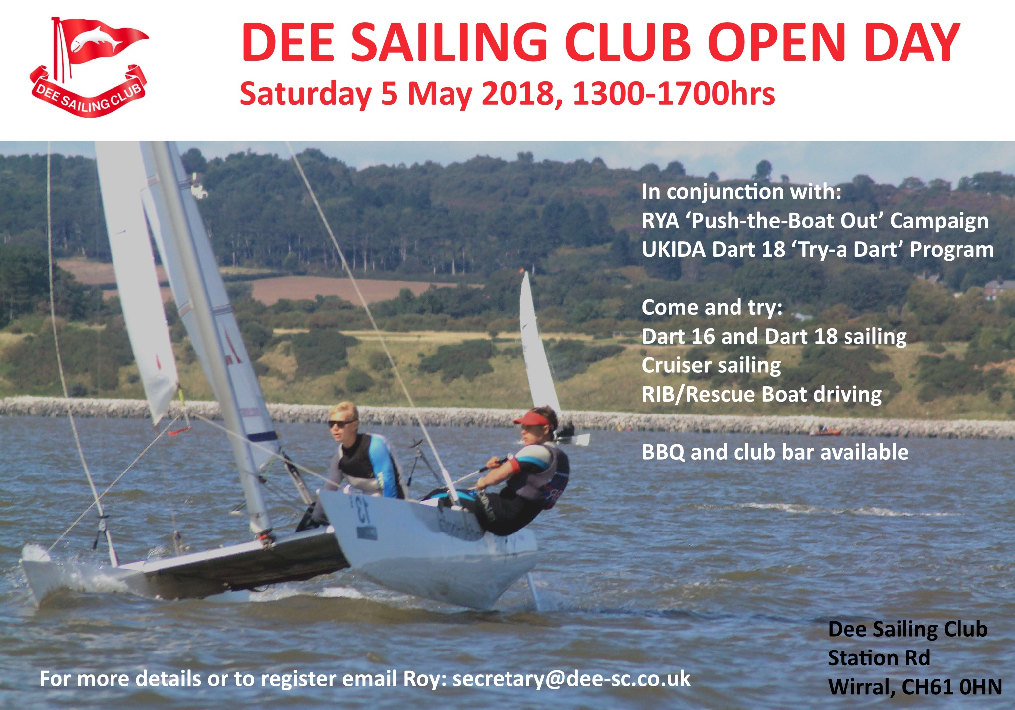 Dee Sailing Club Open Day