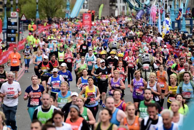 Are you taking part in the London Marathon this year? Get in touch