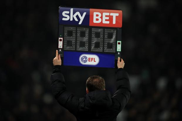 Wirral Globe: The English Football League (EFL) is sponsored by a major betting company
