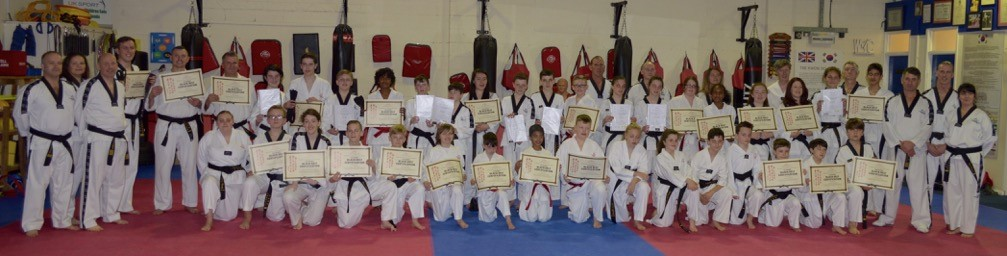 Members of Wirral & Chester Tae Kwon-Do Club earned their black belts following a grading competition in Bristol