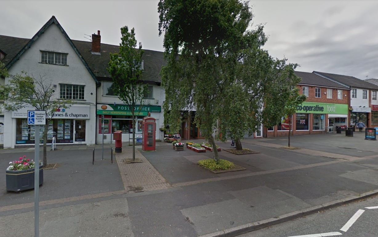 The post office on Greasby Road. (Picture: Google Maps)
