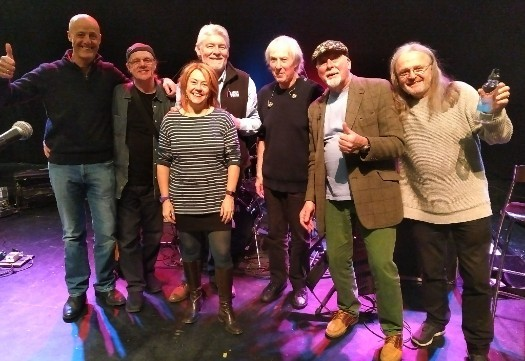 Fairport Convention with Winter Wilson last year