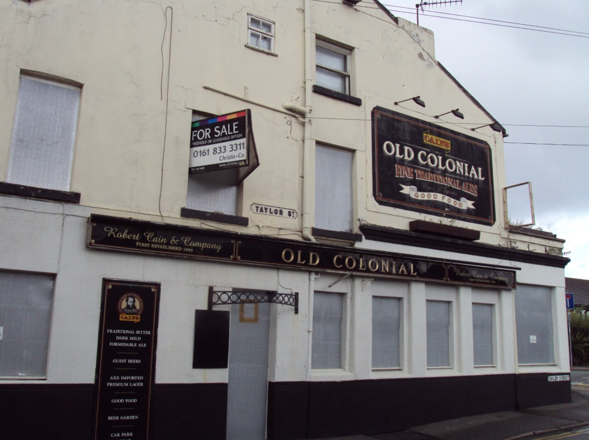 The Old Colonial pub in Birkenhead