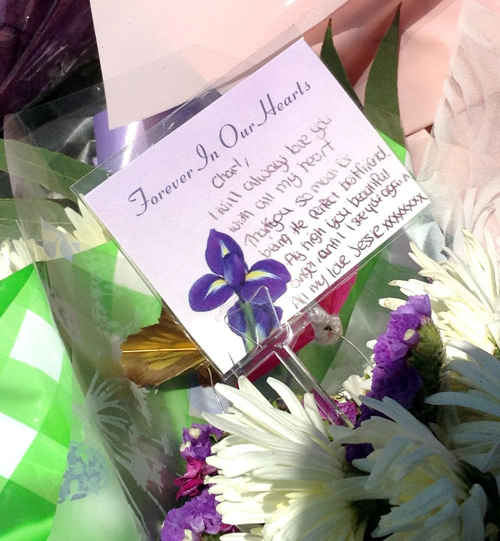 Gallery Floral Tributes To Beautiful Angel Charlotte Carroll