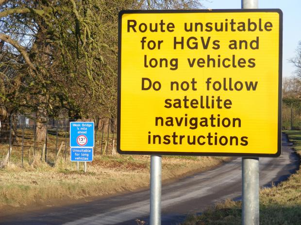 A similar problem in Yorkshire led to the council setting up warning signs