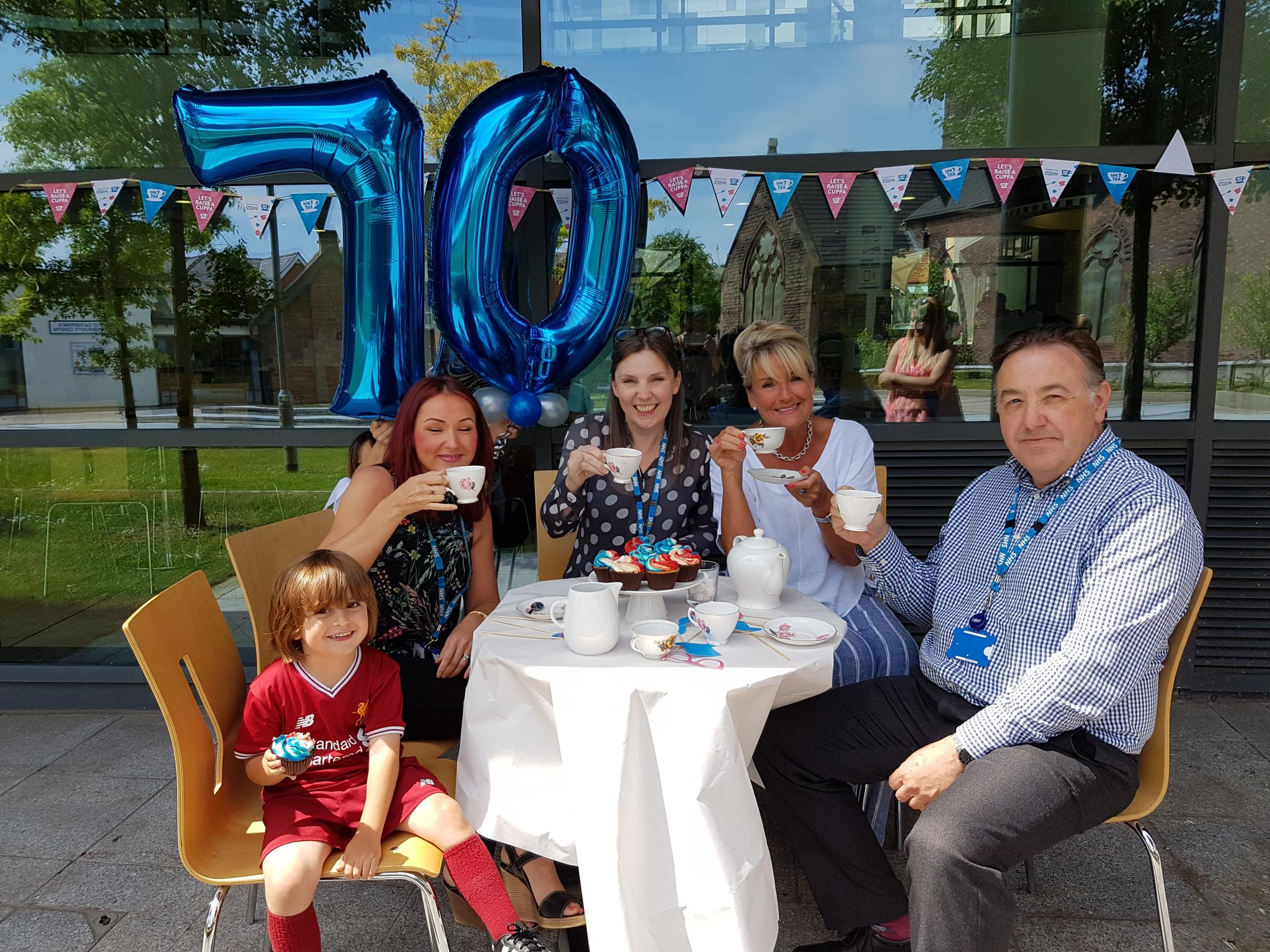 Globe readers are invited to pop in for a cuppa and a cake durin the Big 7Tea party, at the venue in Derby Road on Thursday July 5 from 1-4pm