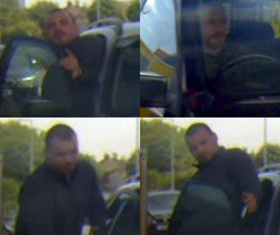 Police have released the following CCTV images