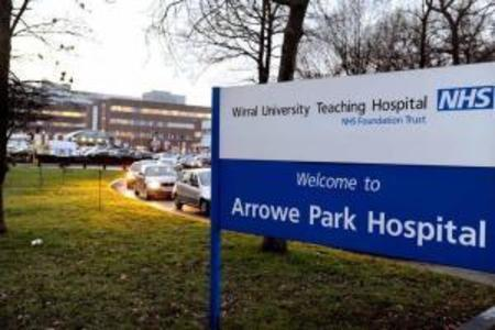 Grateful thanks to amazing Arrowe Park Hospital