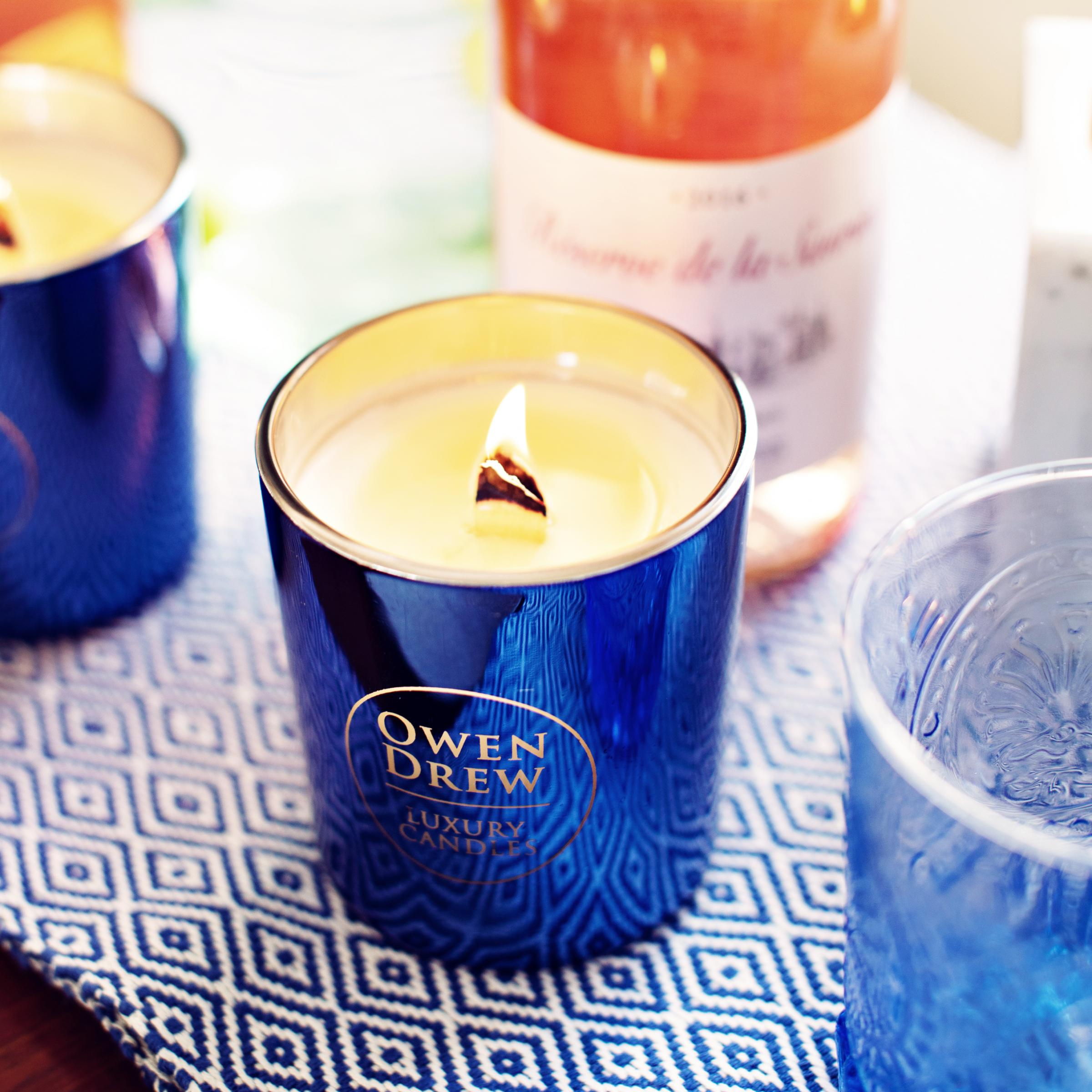 Owen Drew's 'Amalfi' candle ranked higher than Tom Ford and Suzanne Kaufmann
