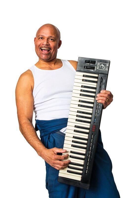 Louis Emerick plays Horse in 'The Full Monty' which will be staged at The Storyhouse in Chester next month