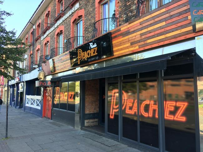 Peachez Gentlemen's Club was refused permission to continue operations earlier this year, but was allowed to stay open following an appeal