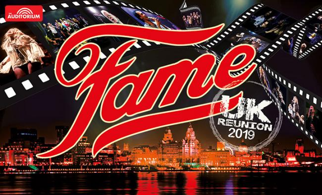 Promotional poster for Fame tour